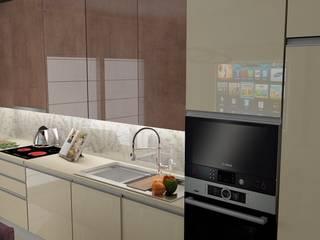 Funcional & Elegante: Cozinhas embutidas  por Casactiva Interiores