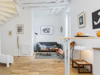 Rénovation d'un petit duplex à Paris par Madame Prune Moderne