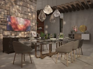 CONTRASTE INTERIOR Dining roomAccessories & decoration