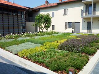 arch. Valerio Cozzi Modern style gardens
