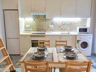 De locutorio a vivienda - Proyecto de Home Staging en Madrid Dekohuset CocinaAccesorios y textiles