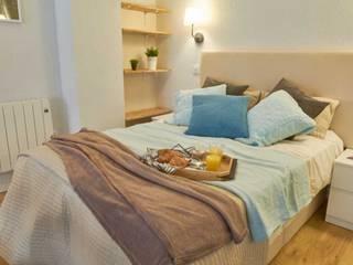 De locutorio a vivienda - Proyecto de Home Staging en Madrid Dekohuset DormitoriosAccesorios y decoración