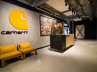 Carhartt Interieur Industriële kantoor- & winkelruimten van Qupix® Industrieel
