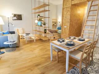De locutorio a vivienda - Proyecto de Home Staging en Madrid Dekohuset SalonesAccesorios y decoración