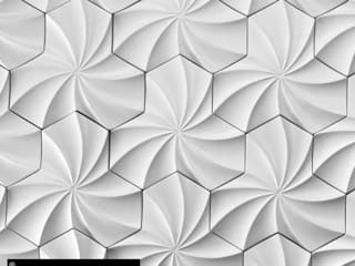 "Modelo ""Fenix"":  de estilo  por GRUPO DALÒ    PANELES DECORATIVOS EN 3D"