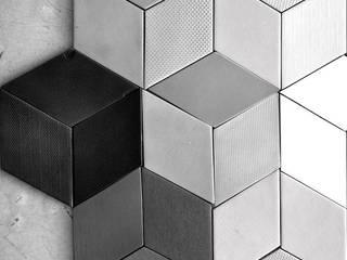 "Modelo ""Retal"":  de estilo  por GRUPO DALÒ    PANELES DECORATIVOS EN 3D"