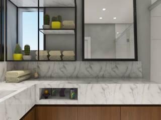 ห้องน้ำ โดย Luiza Broch Arquitetura e Design, โมเดิร์น