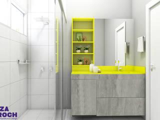 Bathroom by Luiza Broch Arquitetura e Design