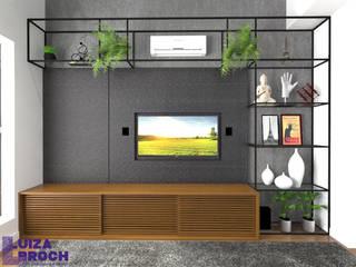 Living room by Luiza Broch Arquitetura e Design