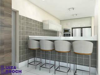 Kitchen units by Luiza Broch Arquitetura e Design