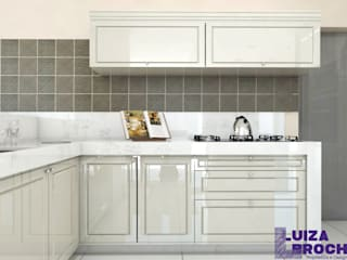 Built-in kitchens by Luiza Broch Arquitetura e Design