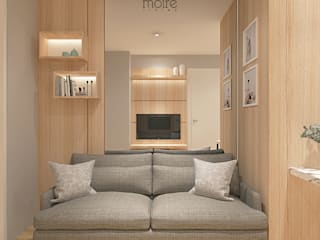 SMALL NOT TO SMALL:  Ruang Keluarga by Moire Living