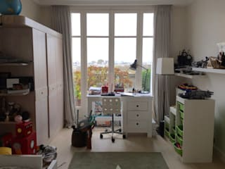 Chambre d'adolescent moderne- Before and after par Lichelle Silvestry