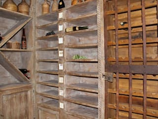 Porte del Passato Wine cellar Kayu Wood effect