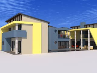 house lekala:   by Peu architectural studio