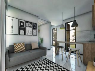 Interior:  Ruang Keluarga by Atelier BAOU+