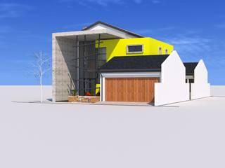 house seshoka:   by Peu architectural studio