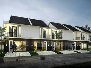 GV Town House :  Rumah by Atelier BAOU+