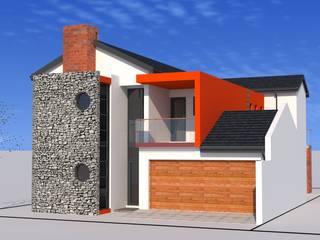 house mathebula:   by Peu architectural studio