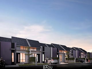 DP Town House :  Rumah by Atelier BAOU+