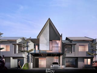 RM House :  Rumah tinggal  by Atelier BAOU+