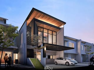 R House :  Rumah tinggal  by Atelier BAOU+