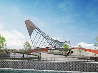 Purus Bridge :   by Atelier BAOU+