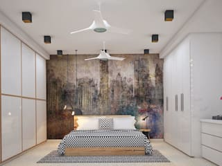 Residence Eclectic style bedroom by homify Eclectic