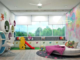 Residence homify Nursery/kid's room