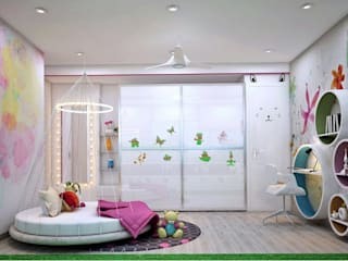 Residence:  Nursery/kid's room by Designism