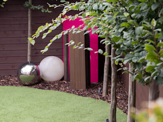 Urban Garden Design Essex Earth Designs Zen garden Pink