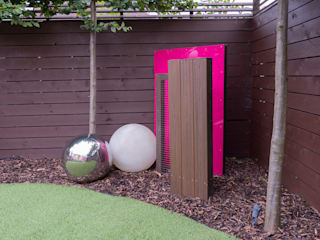 Urban Garden Design Essex por Earth Designs Moderno