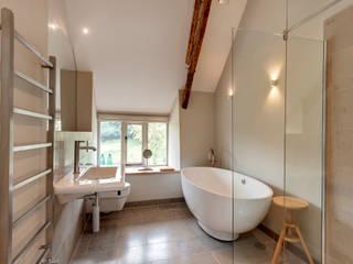 West Yard Farm Modern bathroom by van Ellen + Sheryn Modern