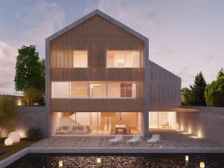 HCP: Piscinas modernas por Terra Arquitectos