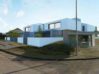 HDS: Casas modernas por Terra Arquitectos
