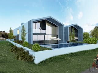 HDS: Piscinas modernas por Terra Arquitectos