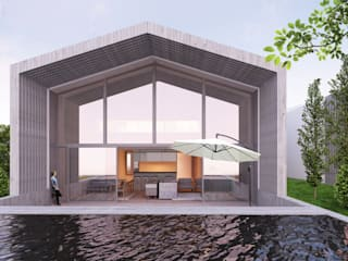 HDS: Piscinas  por Terra Arquitectos,Moderno