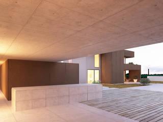 HHD: Piscinas  por Terra Arquitectos,Moderno