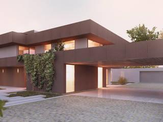 HHD: Casas  por Terra Arquitectos,Moderno