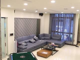 城藝室內裝修企業有限公司 Living roomSofas & armchairs Synthetic Purple/Violet