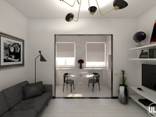 ULA architects Living room Black