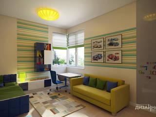 Kamar tidur anak oleh Технологии дизайна, Modern