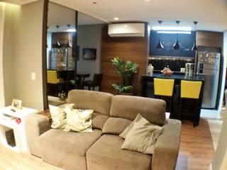Moderne Wohnzimmer von E Arquitetura e Interiores Modern