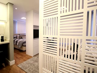 Salones escandinavos de Serra Vaz Arquitetura e Design de Interiores Escandinavo