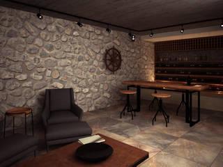 Wine cellar by PRAGMA Arquitectura, Mediterranean