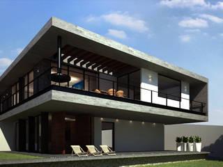 Casa Balcones de Juriquilla de PRAGMA Arquitectura Minimalista