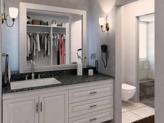 Bathroom by PRAGMA Arquitectura, Classic