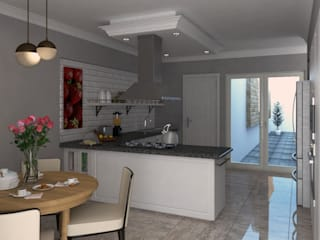 Built-in kitchens by PRAGMA Arquitectura, Classic