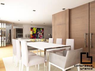 Design de Interiores de Moradia Moderna CCB _ V.N.Gaia: Salas de jantar  por CB | Interior Design