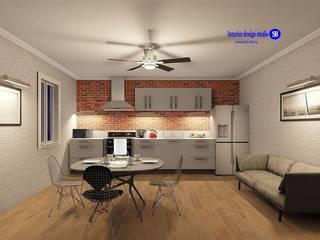 Cozinhas industriais por 'Design studio S-8' Industrial